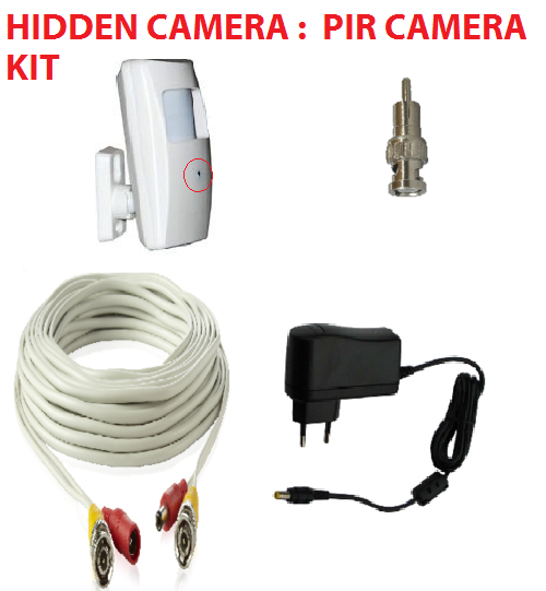 Diy Hidden Camera Diy Hidden Pir Camera Kit With