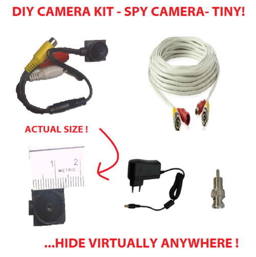 Diy Hidden Camera Diy Hidden Pin Hole Camera Kit