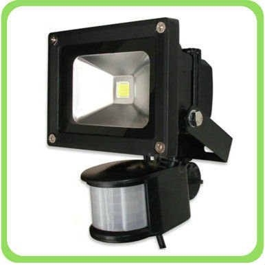 Outdoor led lights 20 watt led floodlight with sensor 90 energy the 20w led ip 65 waterproof outdoor flood light has an aluminium alloy body with toughened glass and is ideal as an energy efficient lighting source aloadofball Gallery