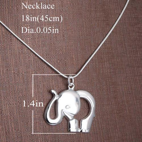 Elephant Pendants on Gold   Silver Pendants   Lovely Sterling Silver Elephant Pendant