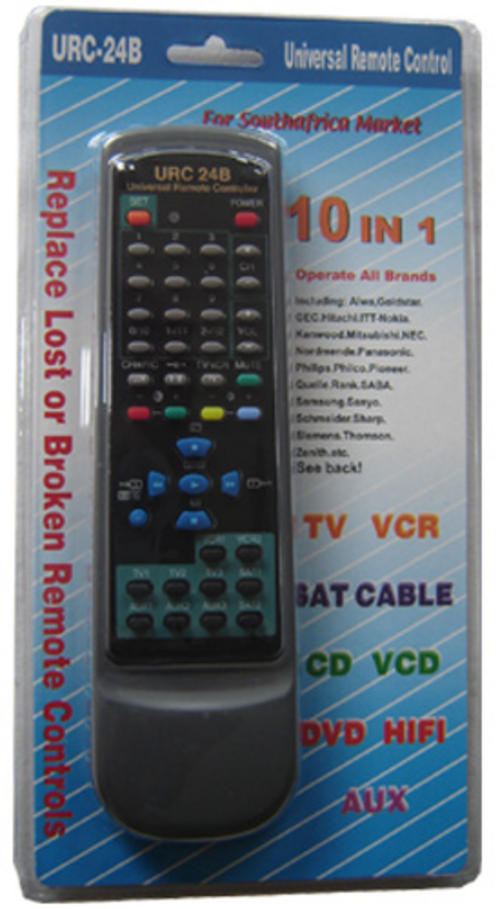 how to set up a universal remote for thorn tvs