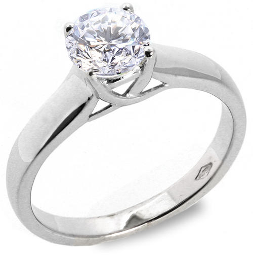 Engagement Rings MASSIVE SOLITAIRE 2 10 CT CLASSIC NATURAL Diamond Enga