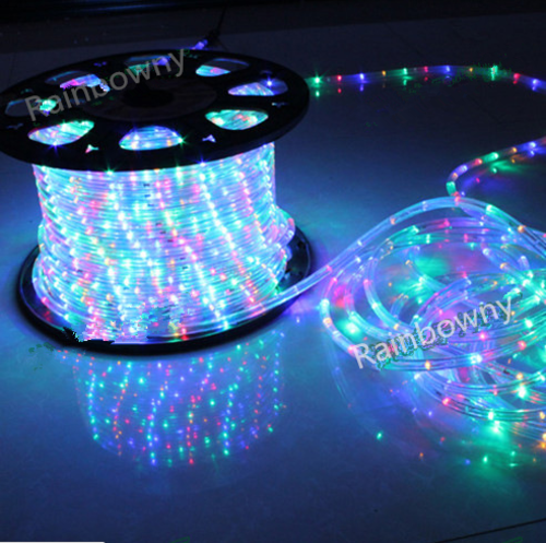 Other Outdoor Lighting - 100 meter 220V LED Rope Lights/ Christmas Lights Multicolour colors ...