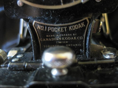 kodak pocket camera no 1