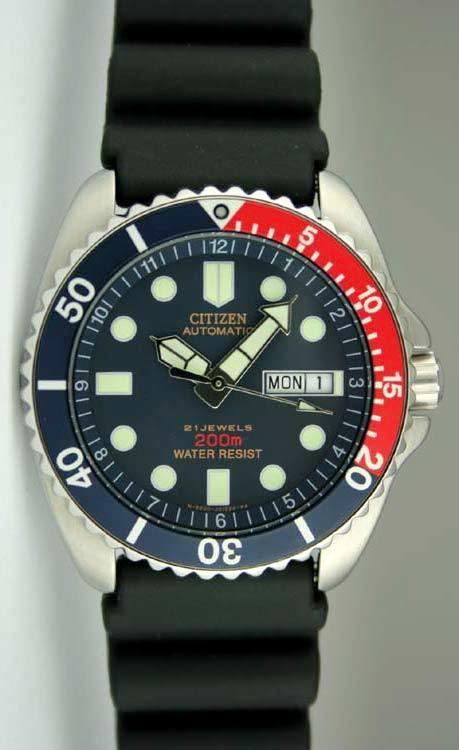 citizen diver's watch vintage (big size), original Japan, movement cal