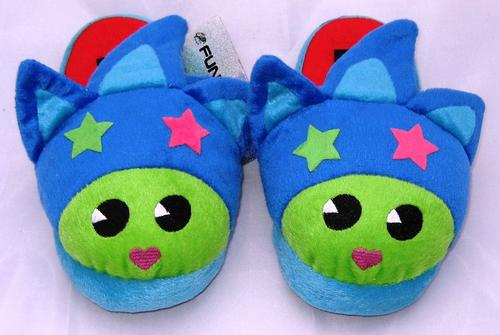 Funky Fish Slippers