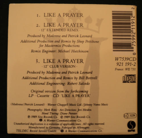 like a prayer music review Find album reviews, stream songs, credits and award information for like a prayer - madonna on allmusic - 1989 - out of all of madonna's albums, like a prayer is.