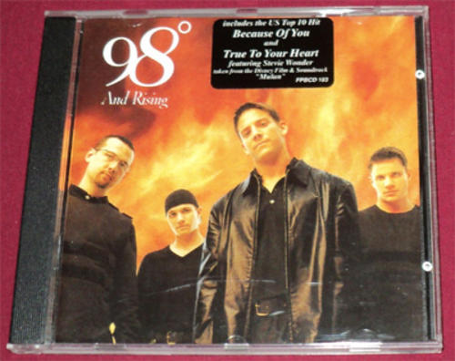 Pop - 98 Degrees - And Rising ( - 57.0KB