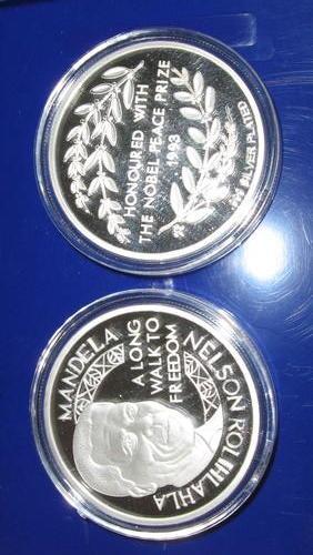 (原创)曼德拉与昂山素季纪念币 - 六一儿童 - 译海拾蚌