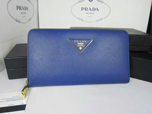 e72158461e54 Prada clutch cornflower blue