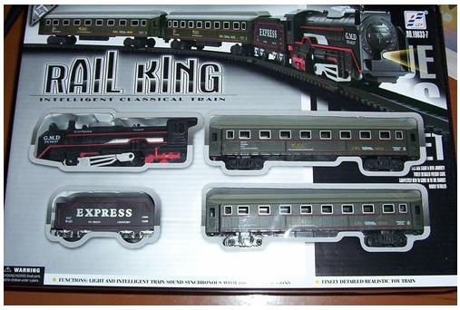 Railking intelligent classical train set
