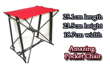 Portable Foldable Chair Amazing Pocket Chair FOR Fishing