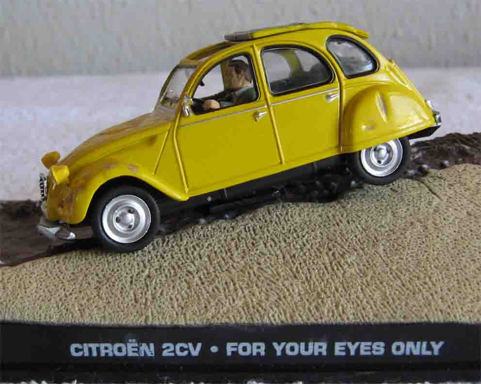 collectable cars citroen 2cv james bond for your eyes only 1 43 scale boxed was sold for. Black Bedroom Furniture Sets. Home Design Ideas