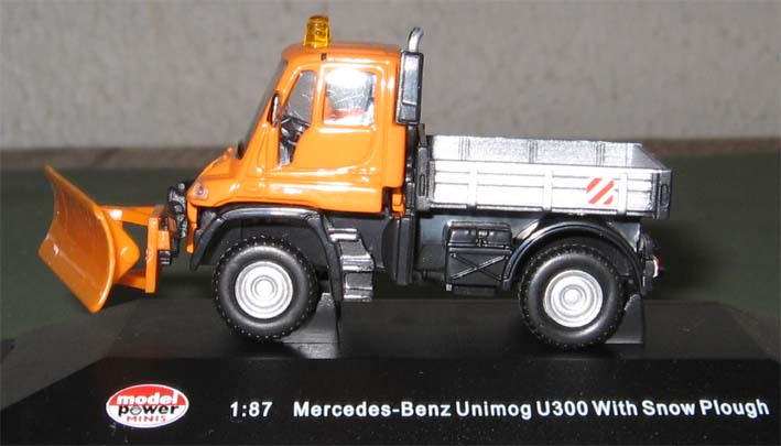 railway mercedes benz unimog u300 by model power in 1 87. Black Bedroom Furniture Sets. Home Design Ideas