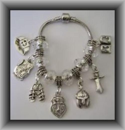 jewellery accessories armor of god charm bracelet was