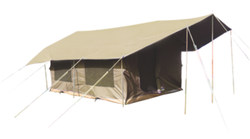 Tents sahara canvas frame tent was sold for r4 on for How to build a canvas tent frame
