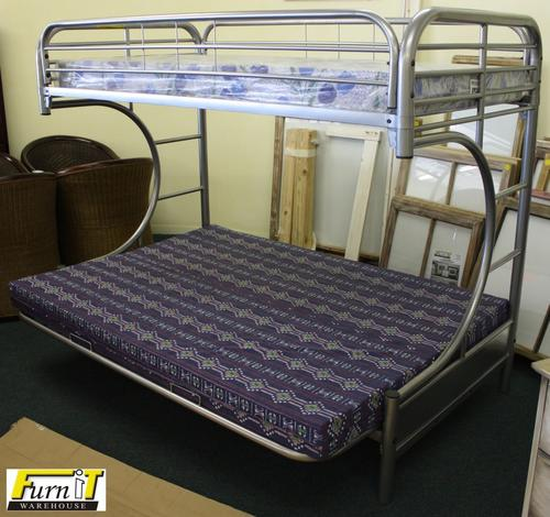 Beds Jim Triple Bunk Couch Combination Metal Frame Only Silver Was Listed For R4