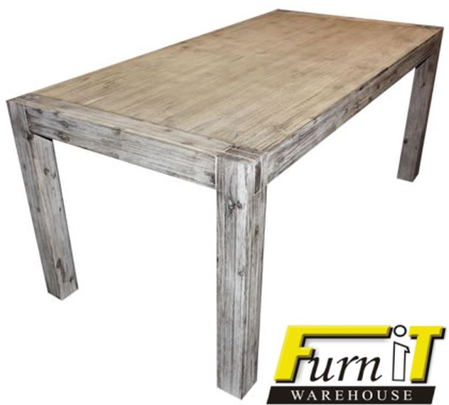 tables gabriel dining table solid wood white wash