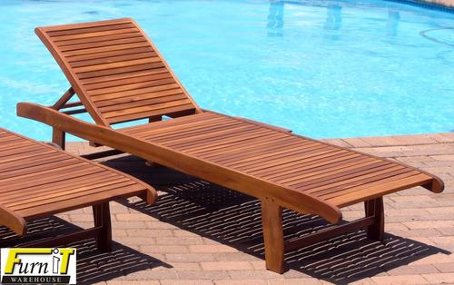 Chairs loungers pool lounger adjustable with tray for Garden pool loungers