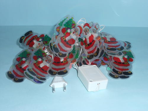 Holiday Decor - Christmas String Lights - Father Christmas Holding Tree was sold for R40.00 on ...