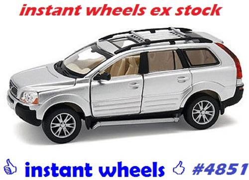 models volvo xc90 4x4 suv 2013 silver motorart new boxed. Black Bedroom Furniture Sets. Home Design Ideas