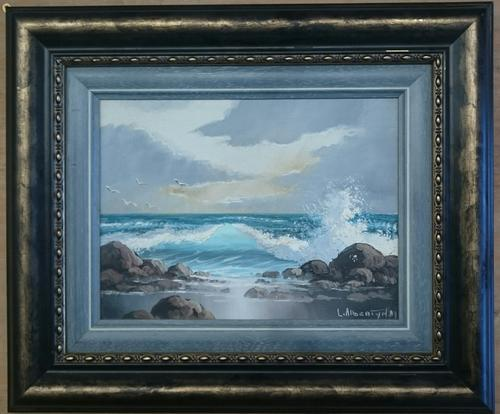 Paintings  Original oil painting by Leslie Albertyn was listed for R2,50000 # Wasbak Frame_071949