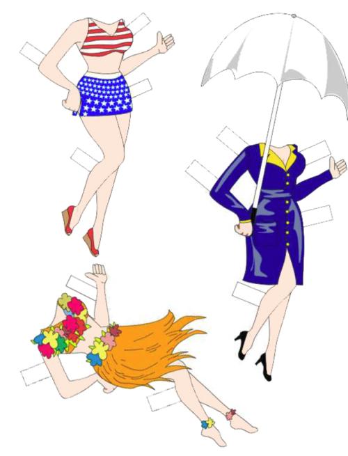 Free Betty Boop Paper Dolls