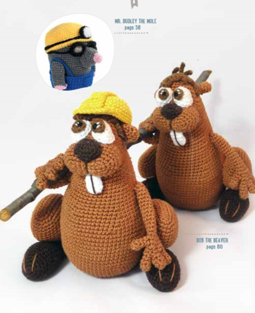 Amigurumi Animals At Work : Crafts & Hobbies - Amigurumi-Animals-at-Work-14-adorable ...