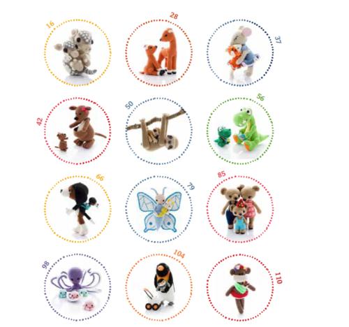 Amigurumi Parent And Baby Animals Free Download : Other Crochet - Amigurumi Parent and Baby Animals EBOOK ...
