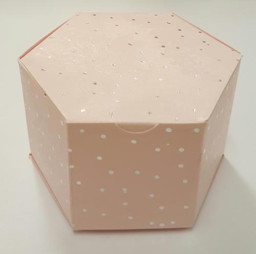 Other Wedding SuppliesWedding Favour BoxesSix Sided Light Pink ...