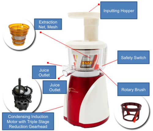 Slow Juicer Self Cleaning : Juicers - BEST vertical Slow Juicer NOW Available in SA! HD CookSense was sold for R3,176.00 on ...
