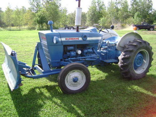 1972 Ford 3000 Tractor Parts : Ford tractor illustrated parts manual book autos post