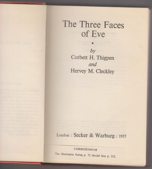 three faces of psychology Come along to a free screening and discussion of the three faces of  sciences  – psychiatry, psychology and psychoanalysis – during the.
