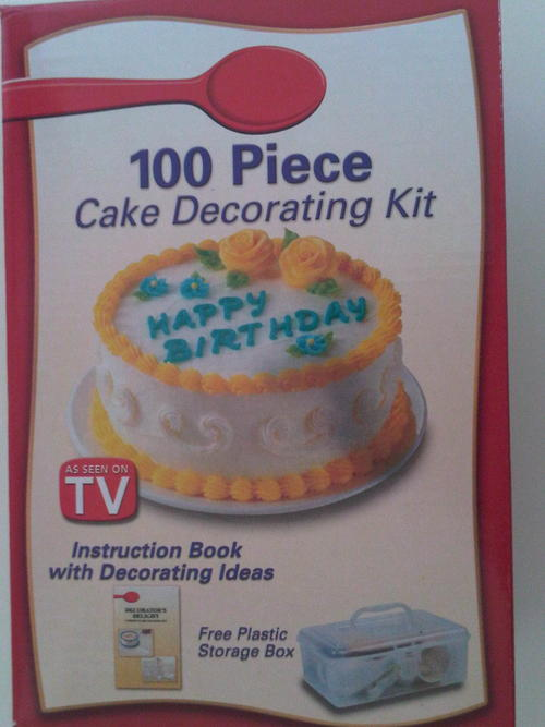 Cake Decorating Za : Unusual Items - 100 Piece Cake Decorating Set. Only R49.00 ...