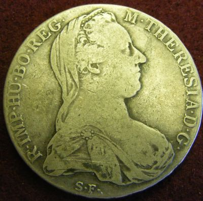Europe - M THERESIA DG 1780 BRITISH CROWN. was sold for ...