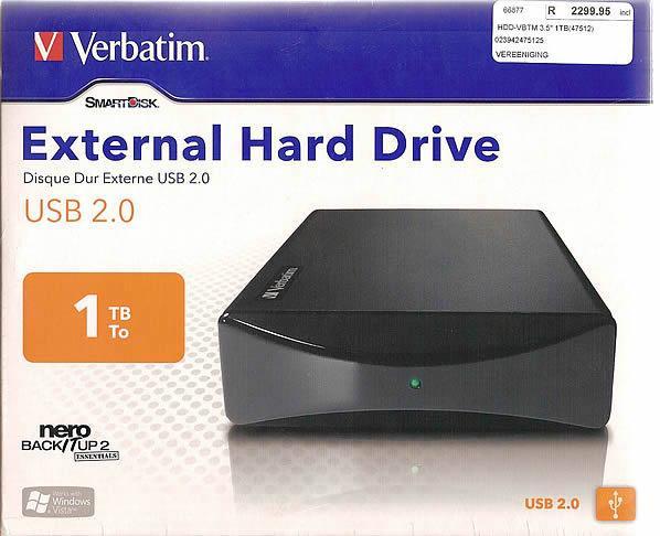 verbatim 1 terabyte  1000