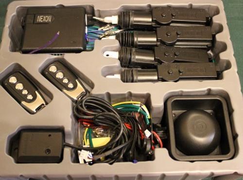 Car Alarms - Car Alarm  U0026 Central Locking Kit