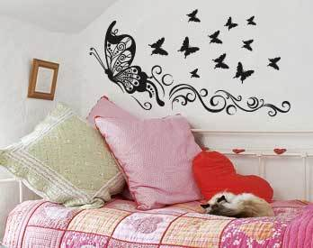 luminous stickers star decal baby kids home room decor sky blue r186