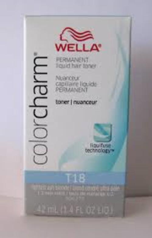 Hair Colourants Amp Dyes Wella Colour Charm T18 Lightest