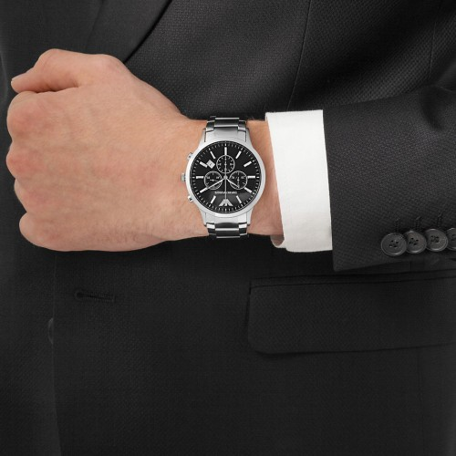 Mens Watches BRAND NEW ORIGINAL EMPORIO ARMANI GENTS WATCH AR 2434R599999 Was Sold For