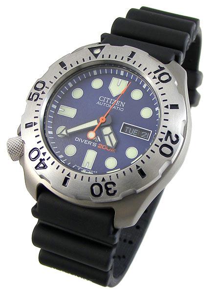 Sports outdoors watches best bargain citizen promaster titanium automatic divers 200m - Citizen titanium dive watch ...