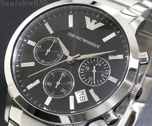 men 39 s watches emporio armani top seller ar2434 gents. Black Bedroom Furniture Sets. Home Design Ideas