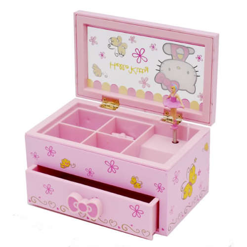 Hello Kitty Tablet Pillow: HELLO KITTY MUSICAL BOX Was Sold