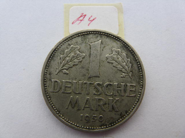 Deutsche Mark 1950 1 Deutsche Mark 1950 a4