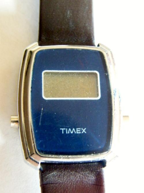 VINTAGE TIMEX DIGITAL WATCHES