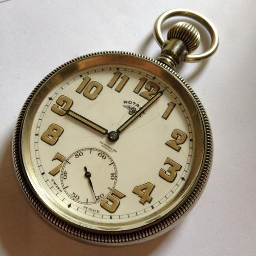 pocket watches vintage rotary pocket wa rayner