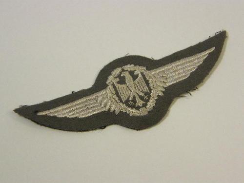 international badges insignia west german air force. Black Bedroom Furniture Sets. Home Design Ideas