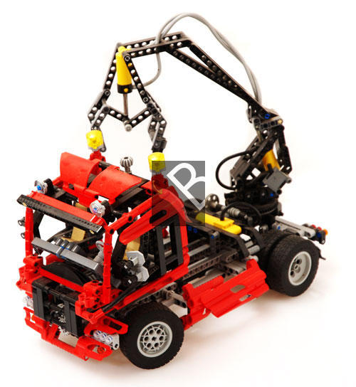 Lego Crane Truck Lego Technic Truck With Crane