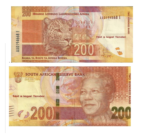 Gill Marcus - MOST WANTED***NELSON MANDELA AA R200 NOTE was sold for ...