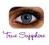 JT -   FREE SHIPPING   Freshlook Colour Contact Lenses - TRUE SAPPHIRETrue Sapphire Contact Lenses